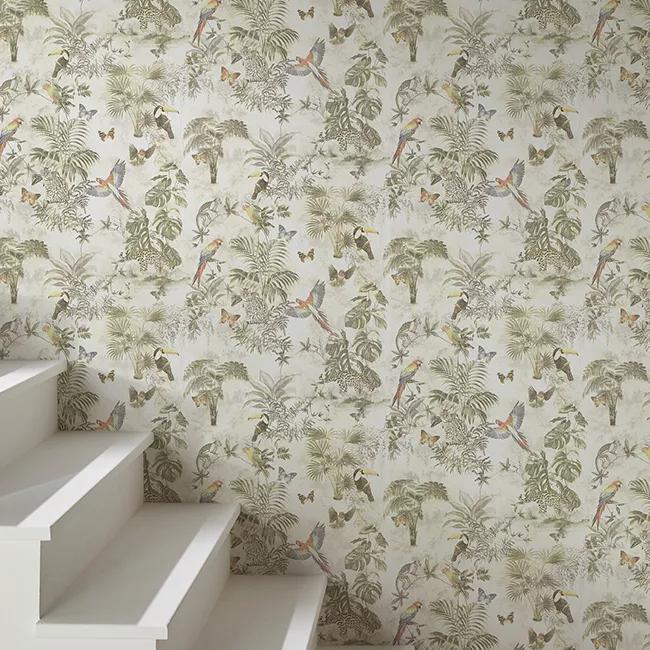 Tapeta Winylowa Na Flizelinie Goodhome Lipia Multikolor Tapety Dekoracyjne Goodhome Printed Shower Curtain Shower Curtain