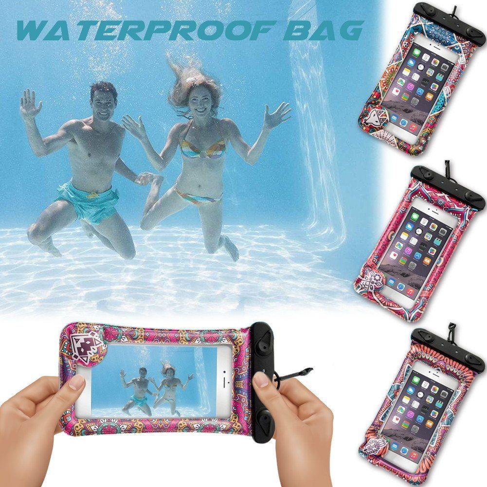 Bohemia Fashion Cartoon Waterproof Swimming Bag Luminous