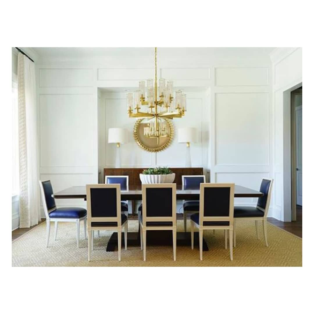 Visual Comfort Co On Instagram Blurring The Lines Of Modern And Classic L I A I S O N Double Tier Chandelier In Antique Burnished Brass With Crackle