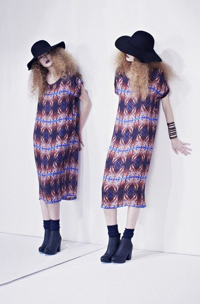 FW Fern Long Box Dress