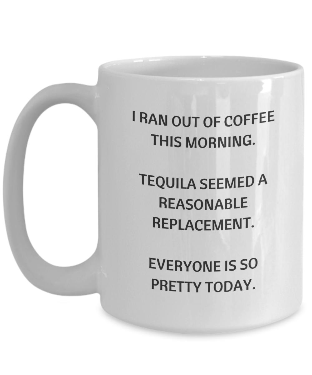 Funny coffee ceramic coffee mug, Tequila coffee mug, birthday gifts ...