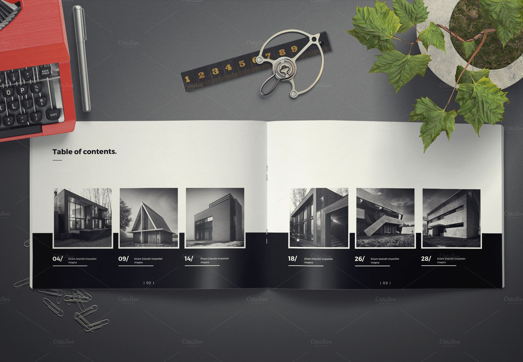 Architecture Landscape Brochure  Brochures