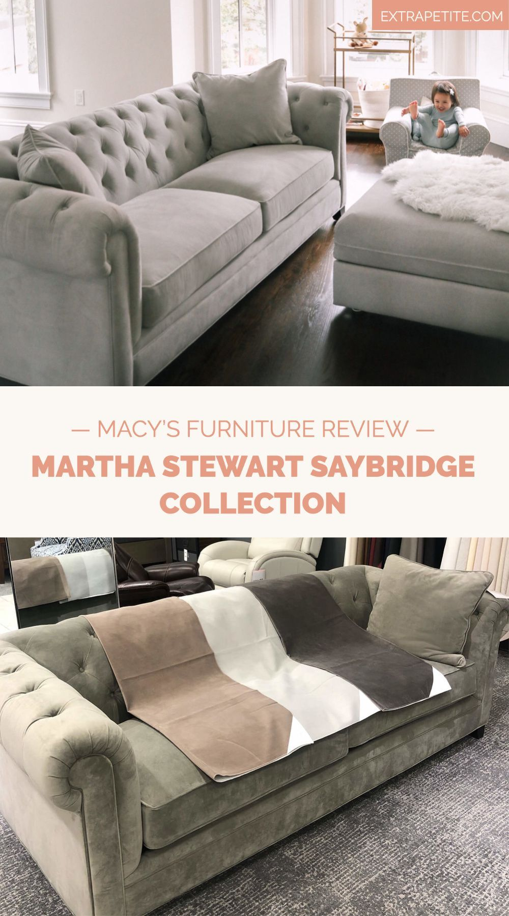 Macy S Sofa Sale Martha Stewart Saybridge Jollene Couch Review Macy Furniture Sofa Sale Furniture Reviews