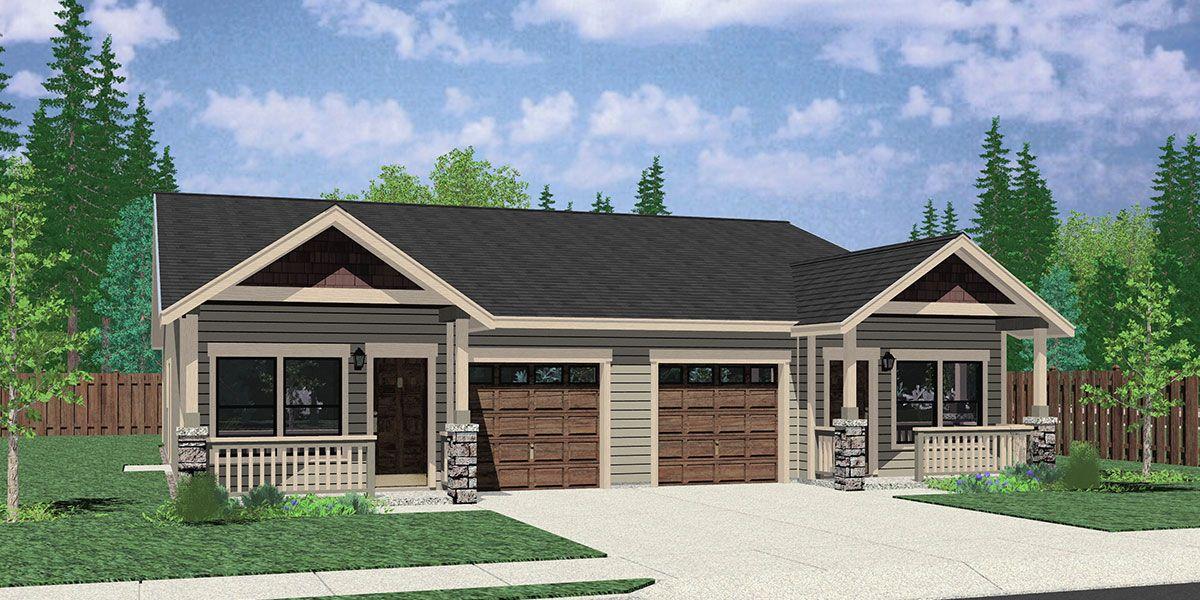 House Front Color Elevation View For D 611 Designed For Efficient