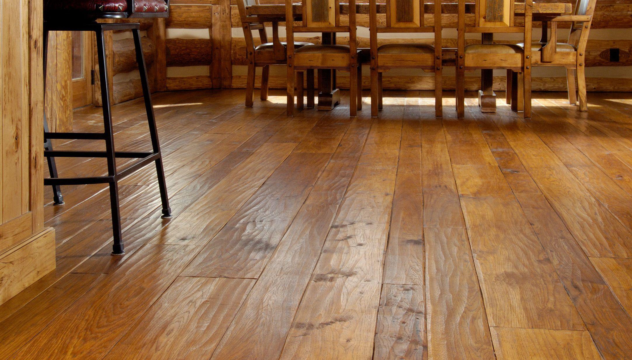 Hickory Hardwood Flooring and Distressed Wood Flooring from Carlisle Wide Plank Floors
