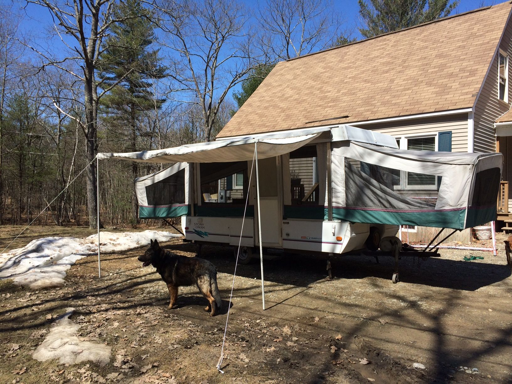 coleman 1995 pop up camper parts and diagram exterior    1995       coleman    fleetwood destiny series stony creek  exterior    1995       coleman    fleetwood destiny series stony creek
