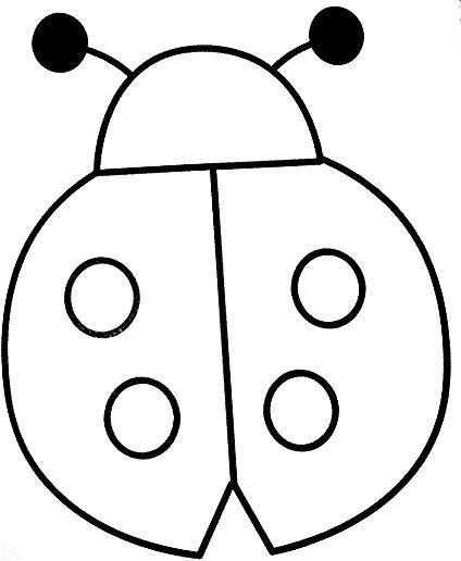 fers  pinblog  ladybug coloring page coloring pages
