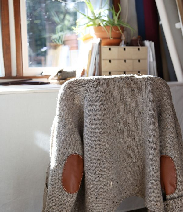 infusion fibres mended sweater