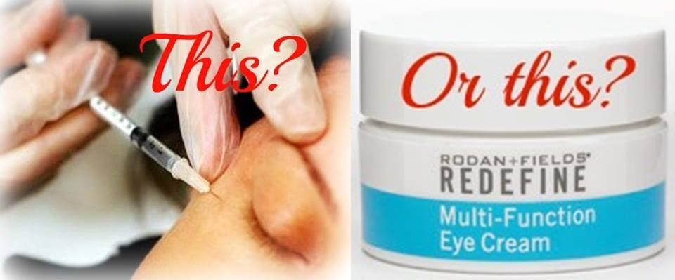 My fave eye cream! It's the bomb and will last for 4 months! A little goes a long way! #rodanandfields #eyecream #crowsfeet #puffiness #darkcircles