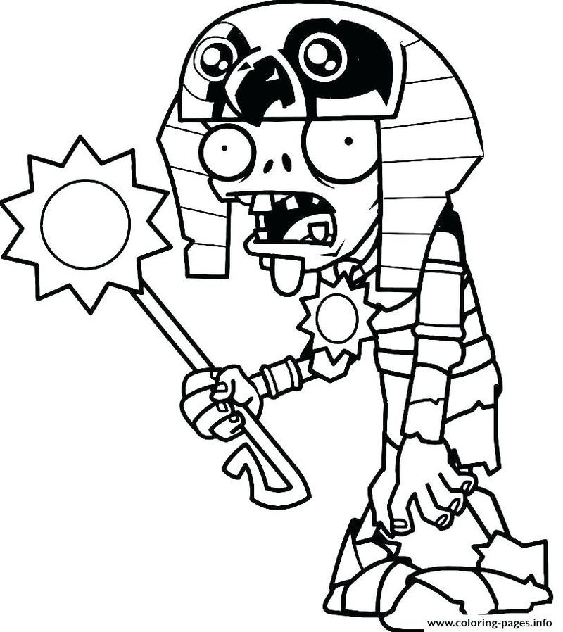Plants Vs Zombies Coloring Pages Coloring Pages For Kids