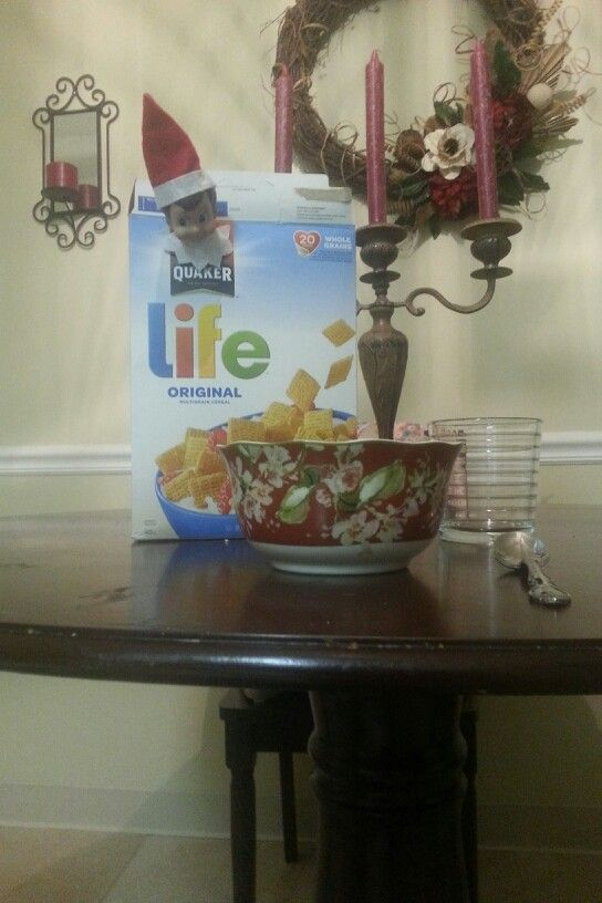 Day 4 - Get a life elf on the shelf