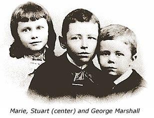 George and his siblings