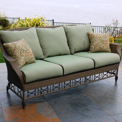 Savannah Woven Sofa At Menards Sofa Home Decor Furniture