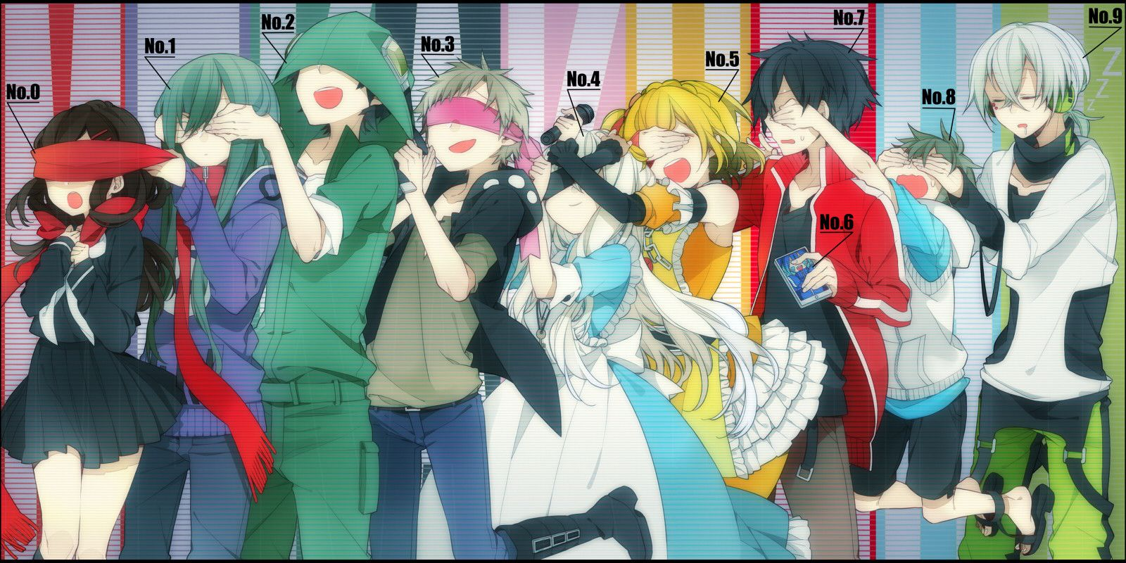 Dark Konoha/1726741 Anime, Kagerou project, Anime images