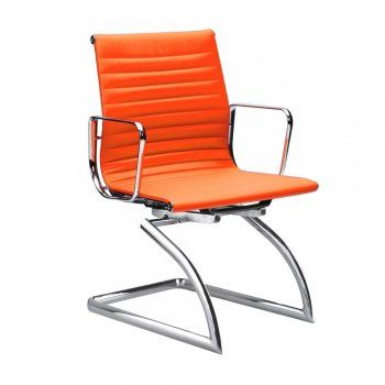 Iconic Designs Cantilever Orange Conference Chair In 2019
