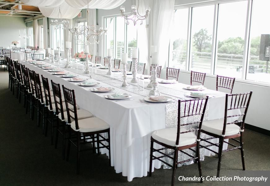 kings table Terrace Club Receptions Pinterest Wedding