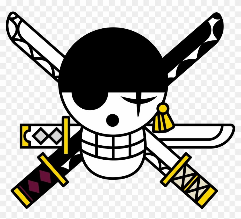 Find Hd One Piece Logo Zoro Jolly Roger Hd Png Download To Search And Download More Free Transparent Png Imag One Piece Logo One Piece Tattoos Roronoa Zoro