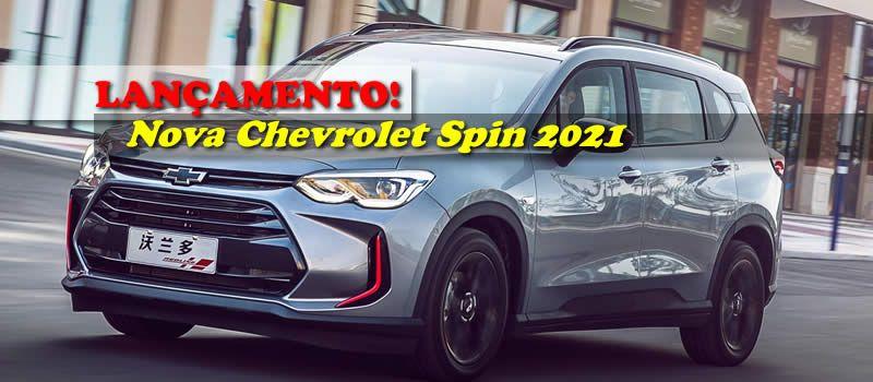 Lancamento Nova Chevrolet Spin 2021 Em 2020 Chevrolet Orlando Minivan Caminhoes