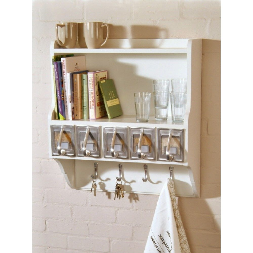 decorative wall shelves with hooks - Decorative Wall Shelves