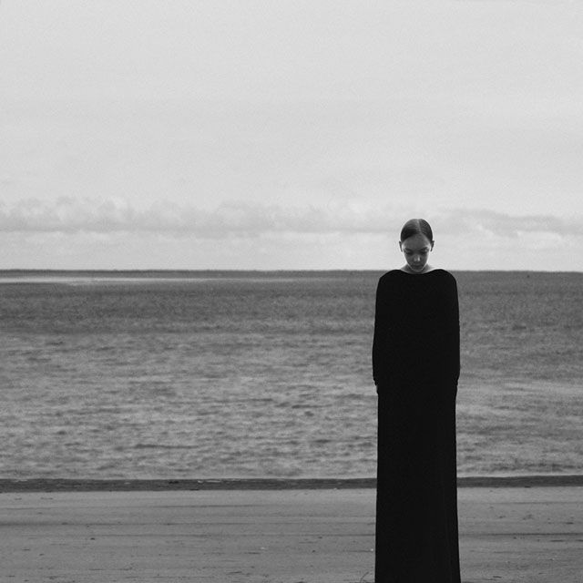 The Minimalist B&w Self-portraits Of Noell Oszvald, curated by Michael Paul Young on Buamai.
