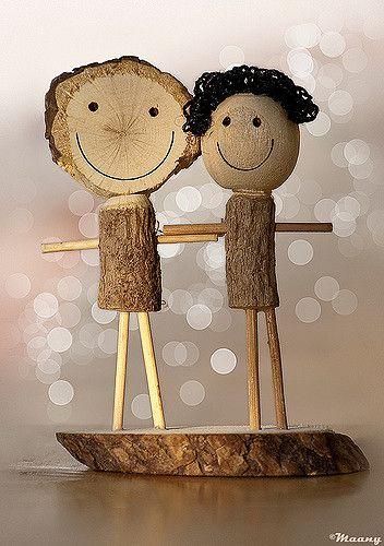 Wooden love!