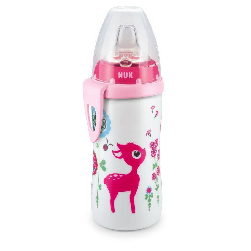 Cute nuk girl bottle | New baby | Pinterest