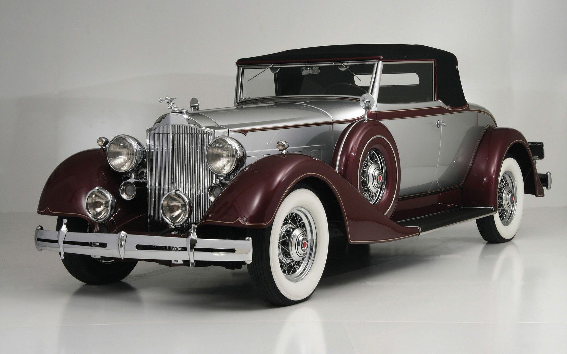 Old Style Antique Cars Packard Cars Retro Cars
