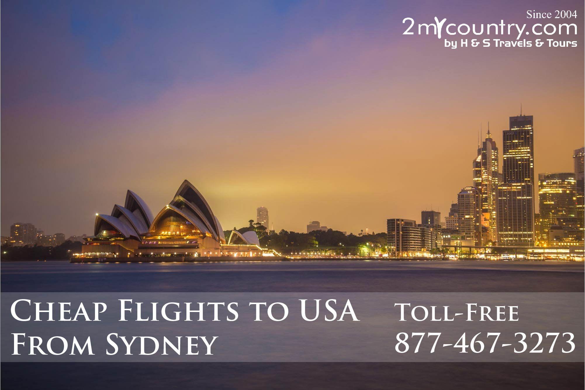 Cheap flights from Sydney, Australia (SYD) to Popular Destination in the United States (US) Dallas $782. Honolulu $302. Houston $667. Las Vagas Nevada $692. California $624. Miami, Florida $780. New York City $732. Washington, District of Columbia $753. CALL NOW 877-467-3273.   #jfktosydflights #cheapflights #flightdeals #flightdeals #2mycountry #flighttickets #airfares #cheapairfares #cheapairdeals #cheapairline #businesstickets #travel