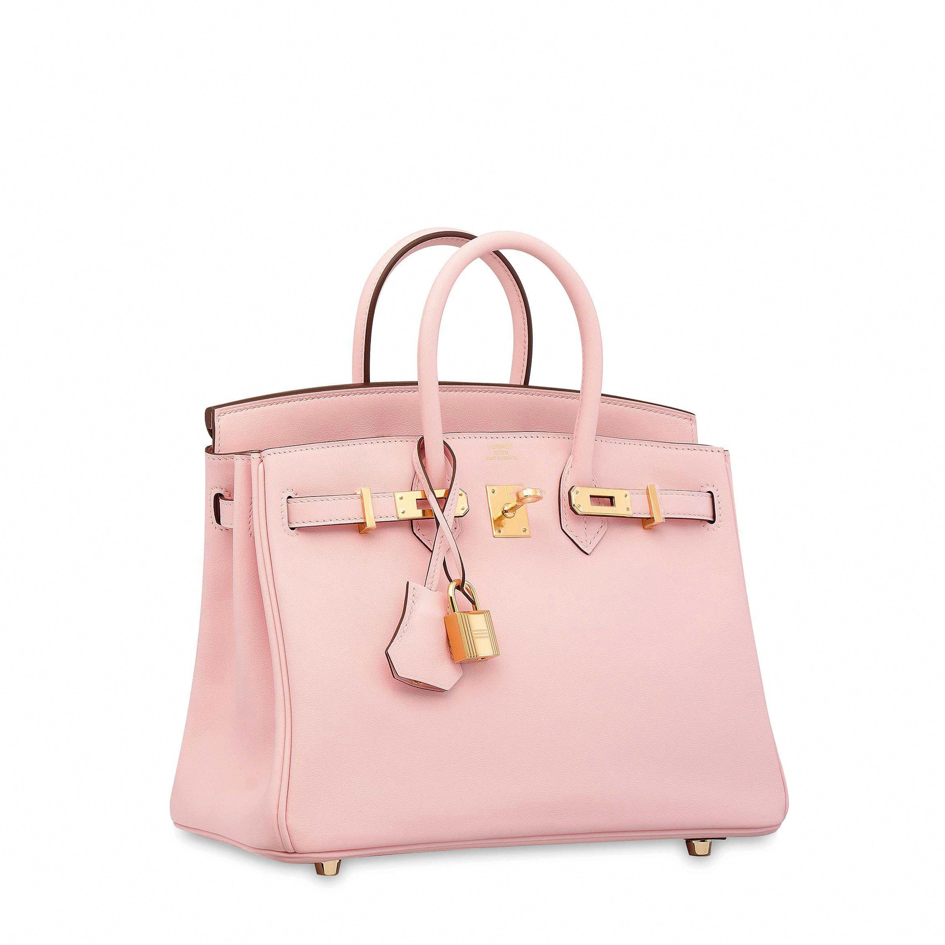 0b1784947260 CONDITION REPORT GRADE  A ROSE SAKURA SWIFT LEATHER BIRKIN 25 WITH GOLD  HARDWARE HERMÈS
