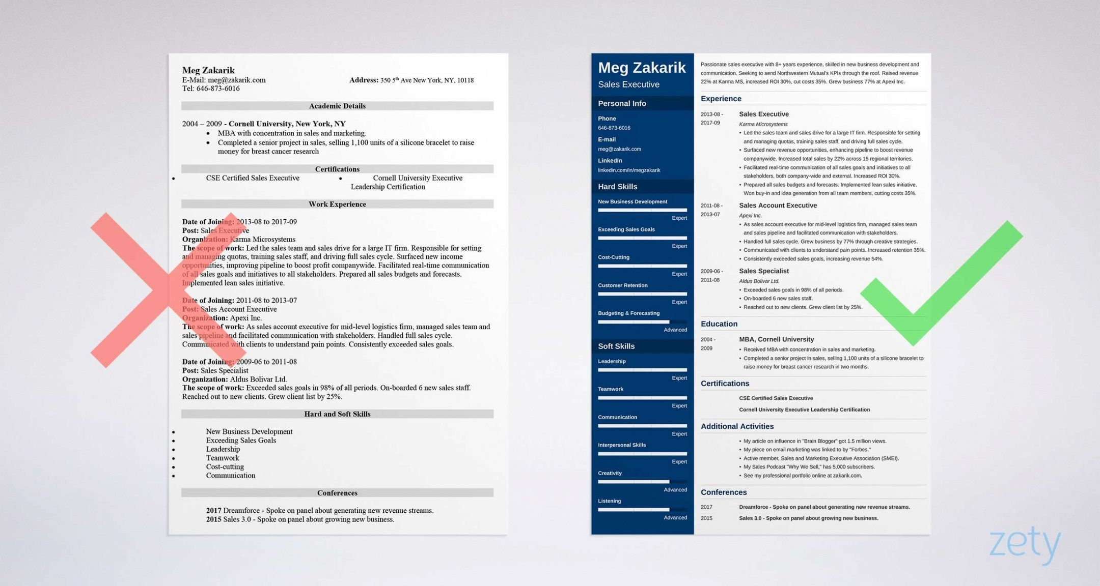 Executive management resume template microsoft word