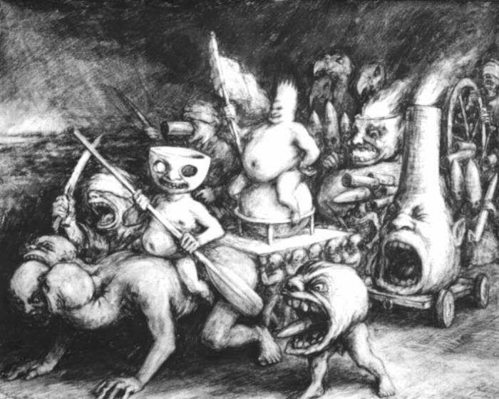 DARK ART S.XXI: PAUL RUMSEY, TRIUMPH OF FOLLY
