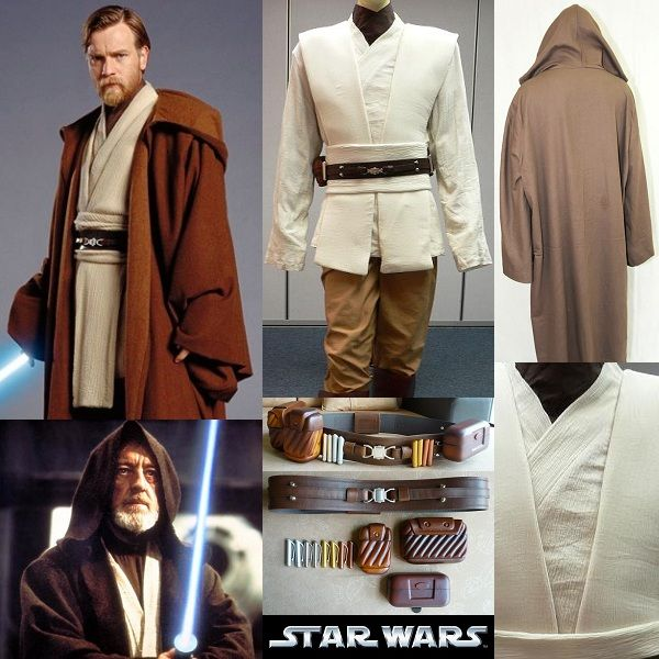 Obi-Wan Kenobi costume / Star Wars Jedi outfit | Star Wars Cosplay ...