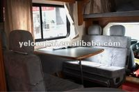 caravan seat with bed function