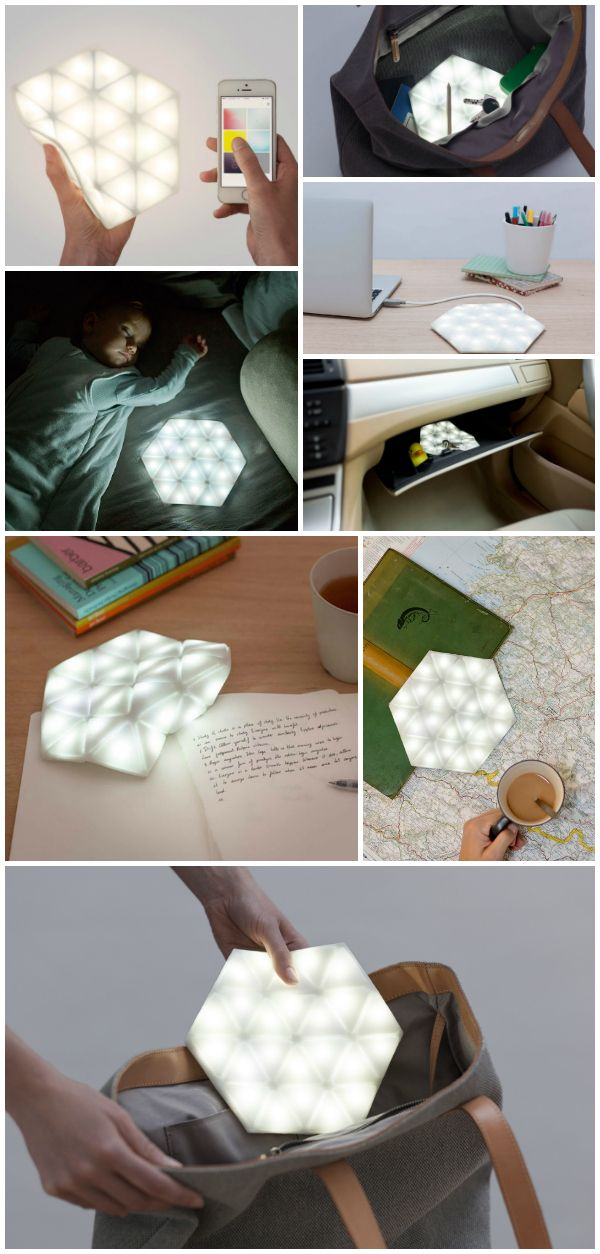 The Kangaroo Light is a flexible, portable, app-controlled, programmable and interactive LED light that…