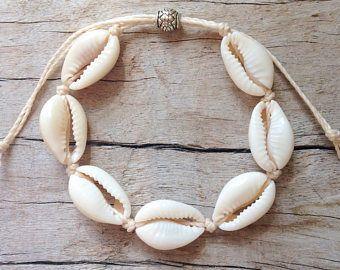 nouveau style 58597 562e6 bijoux de plage, bracelet coquillage cauri, bracelet sirène ...