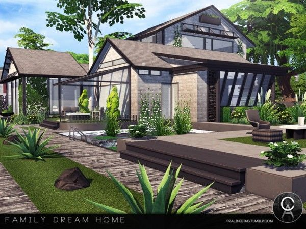 The Sims Resource: Family Dream Home By Pralinesims • Sims