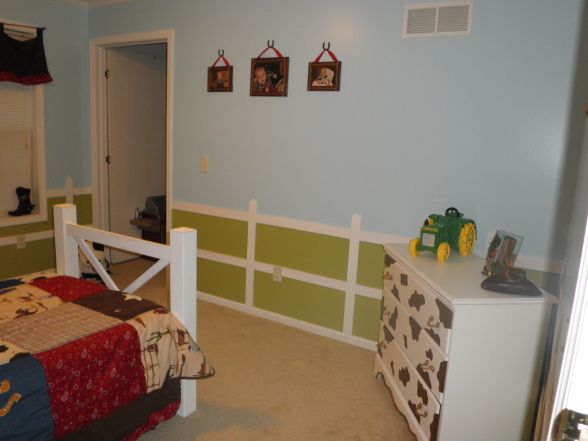Simple Toddler Room