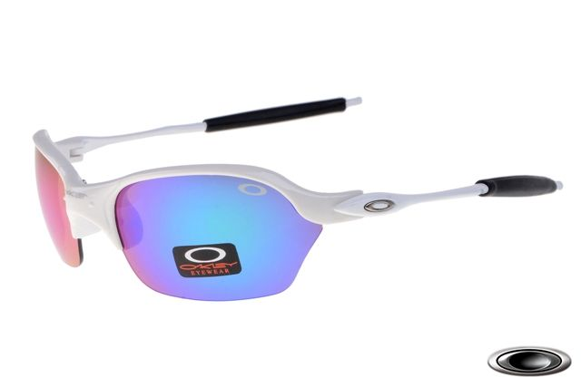 24f9cf1b194 low-cost Oakley Half X White Frame Ice Lens on sale online