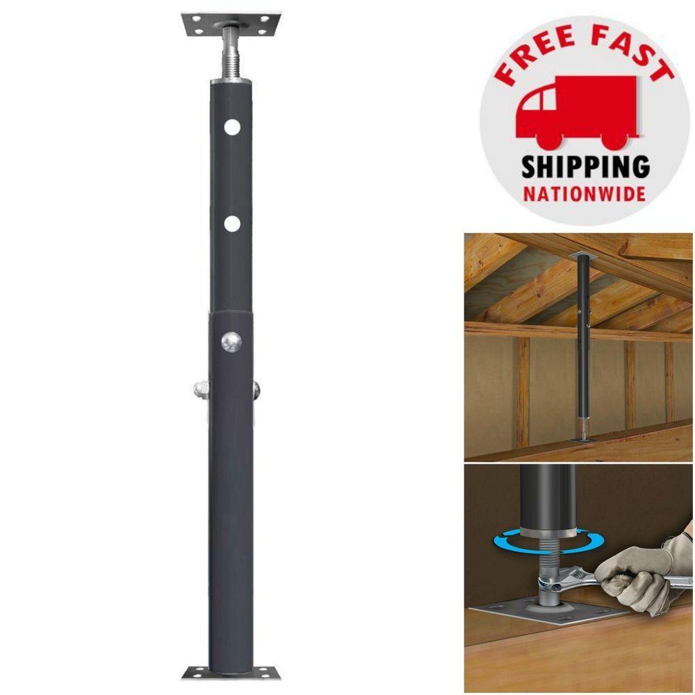 8 Ft Adjustable Jack Post Sagging Floor Basement Beam House Lift