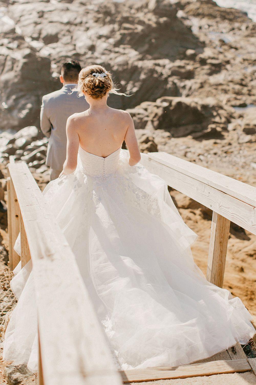 Lace Ballgown Wedding Dress by Casablanca Bridal This