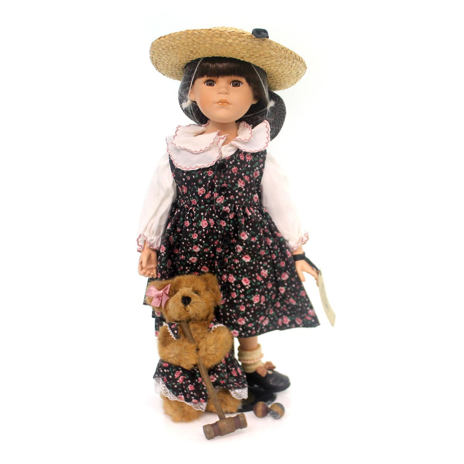 Boyds Bears Resin Laurel W Hyacinth Garden Party Doll