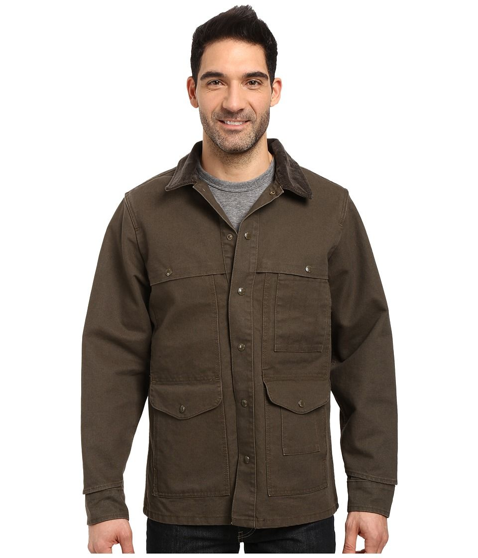4340b0b4dec52a FILSON FILSON - STONEWASHED CANVAS CRUISER (OTTER GREEN) MEN S CLOTHING.   filson  cloth