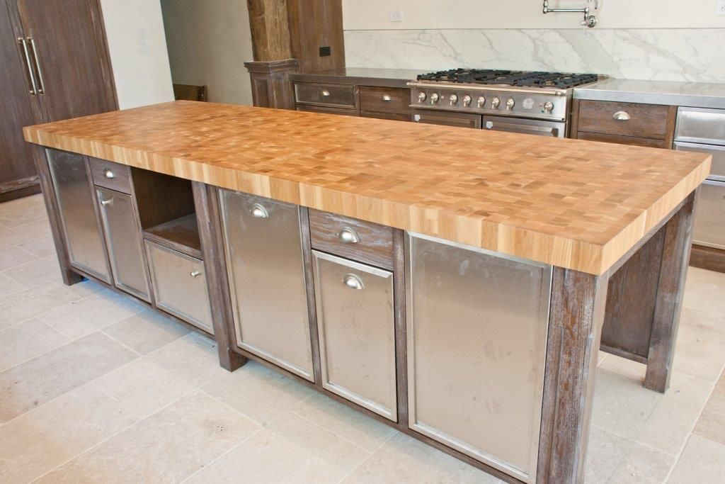 This White Oak End Grain Countertop Is Perfect For Any Kitchen In