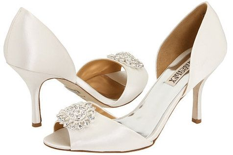 Diamond White Badgley Mischka Lacie Bridal Shoes Regal And