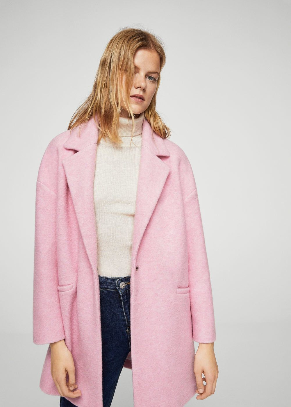 Unstructured wool-blend coat - Women   Jackets + Coats   Pinterest ... 6ae6692d65d1