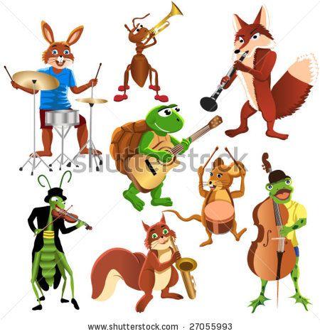 Cartoon Animals Band Cartoon Animals Cartoon Animals