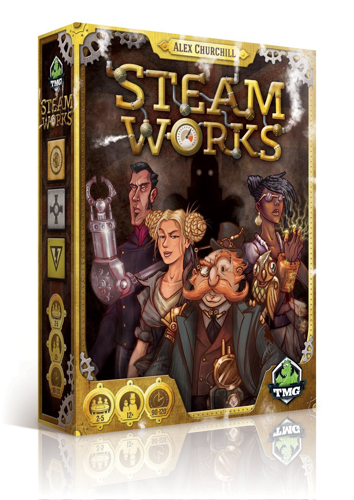 Amazon Steam Works Board Game Toys Games Steam