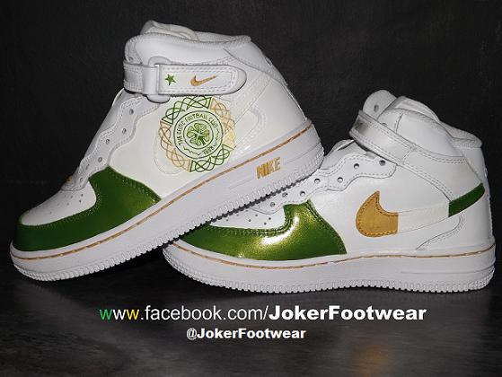 FootwearOne Of JokerfootwearCustom Painted Hand f6vYIybgm7
