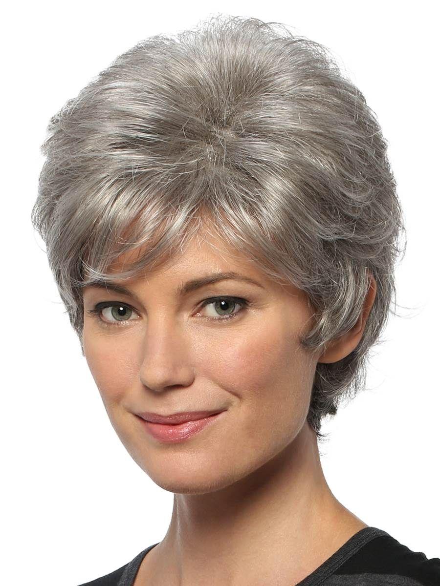 Короткие стрижки фото женские для седых волос