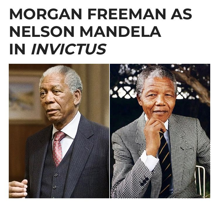 Pin by Meli on DoPpLgAnGeRs | Morgan freeman, Nelson ...